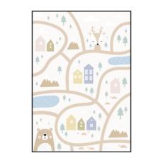 Постер на стену Карта с оленем