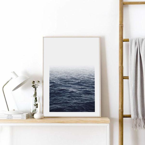 Постер на стену Океан темно-синий