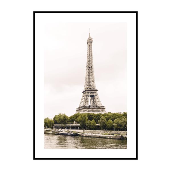вертикальный постер на стену Эйфелева башня
