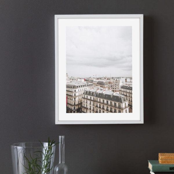"""Постер на стену """"Крыши Парижа"""""""