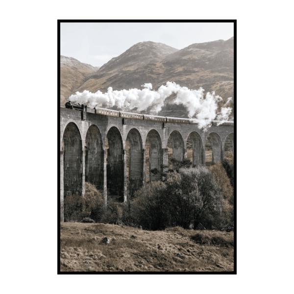 Постер на стену Поезд