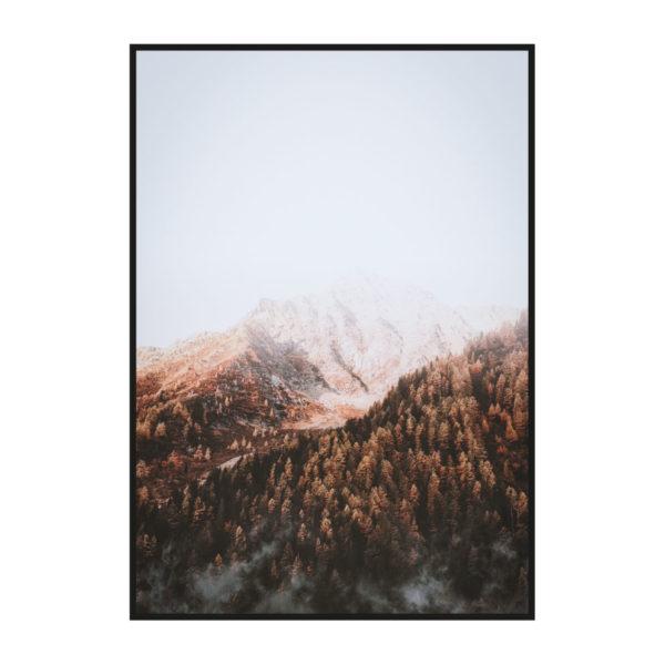 "Постер на стену ""Вершина горы"""