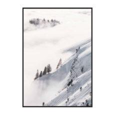"""Постер на стену """"Зимний склон"""""""