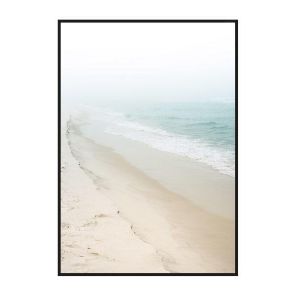 "Постер на стену ""Туманное побережье"""