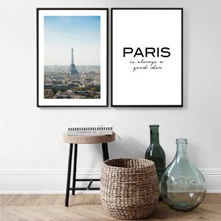 Пара постеров Париж