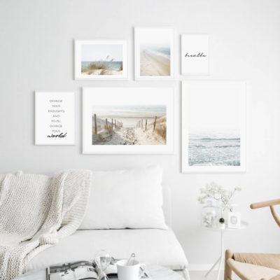 Галерея постеров с пляжем и морем