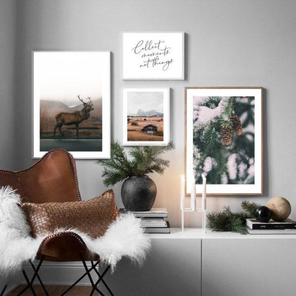 Зимняя галерея постеров