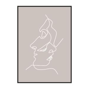 """Постер на стену """"Лица 2"""""""