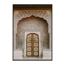 "Постер на стену ""Индийские двери"""