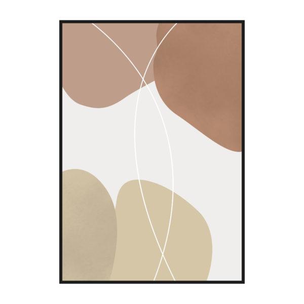 постер коричневые тона
