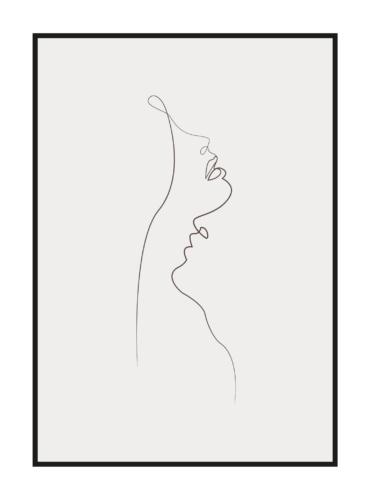 """Постер на стену """"Пара влюбленных"""""""