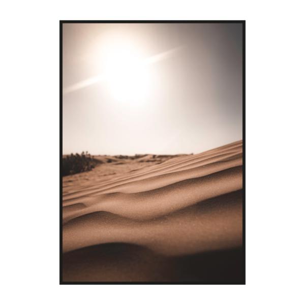 """Постер на стену """"Солнце в пустыне"""""""