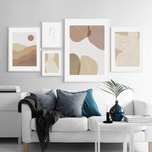 Галерея постеров с абстракциями 3