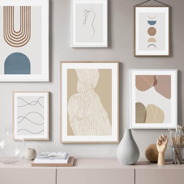 постеры абстрактные картины