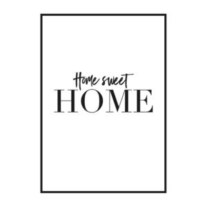 """Постер на стену """"Sweet home"""""""