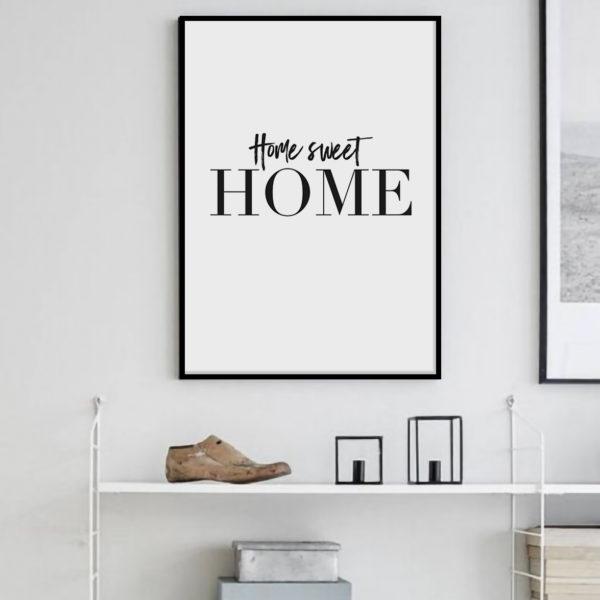 "Постер скандинавский стиль ""Sweet home"""