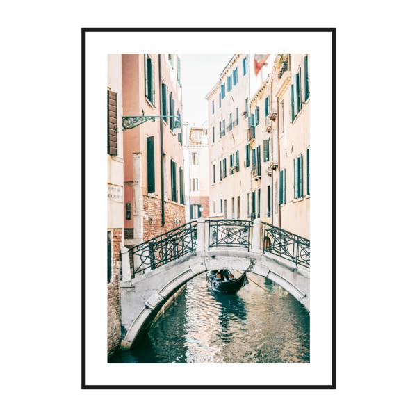 постер на бумаге венеция