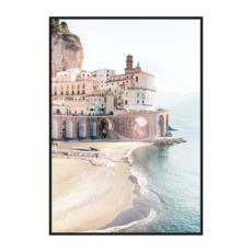 постер побережье италии
