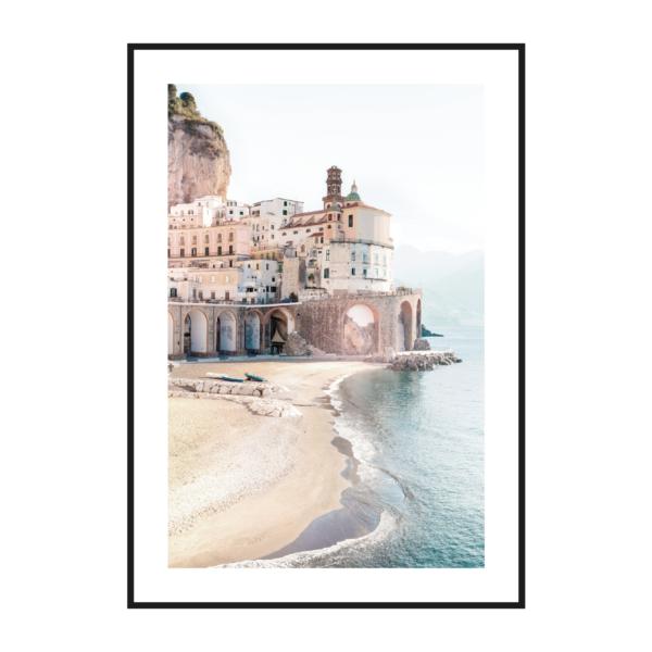 постер берег Италия рамка паспарту