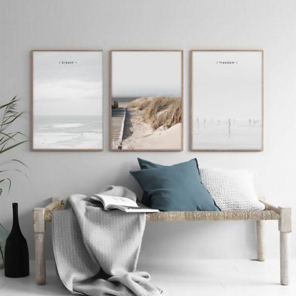 """Постер на стену """"Океан breath"""""""