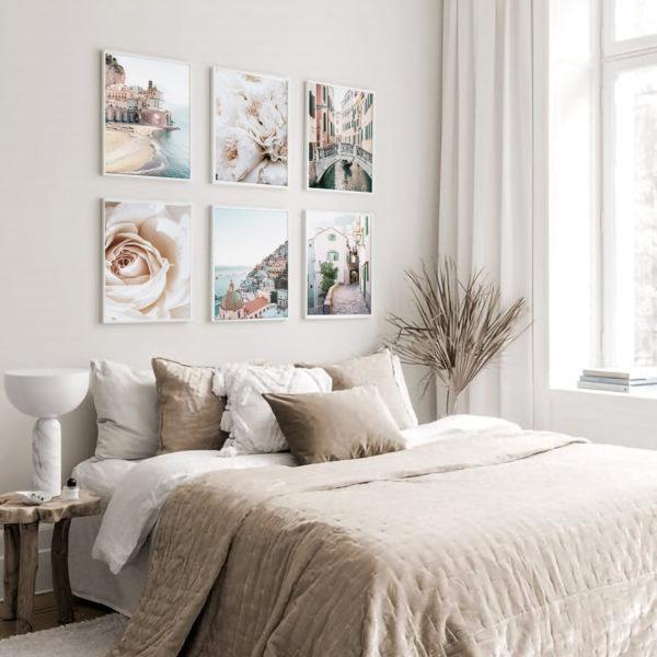 шесть постеров на стену набор