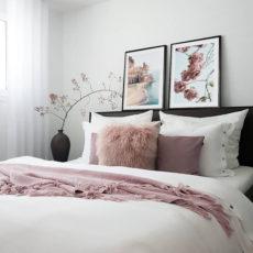 постеры в спальню на холсте