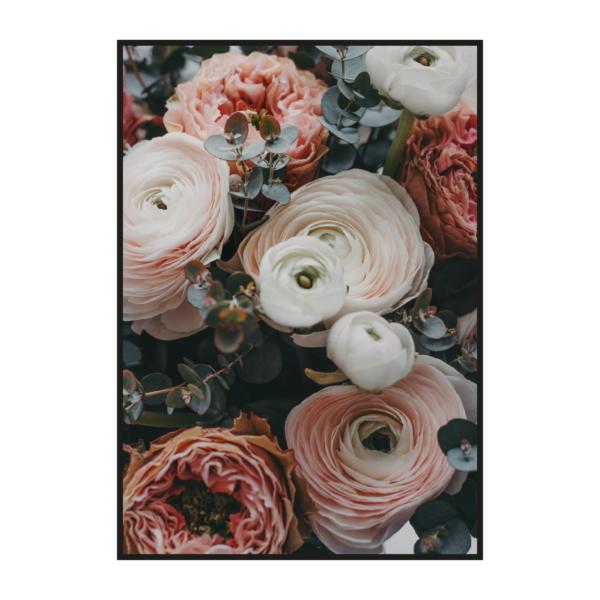 "Постер с цветами ""Ранункулюсы"""