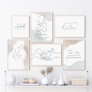 галерея постеров в детскую