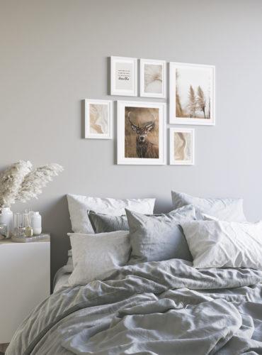 набор осенних постеров стильный в комнату
