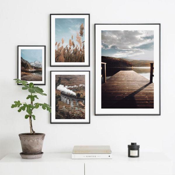 постеры с красивыми фото природа