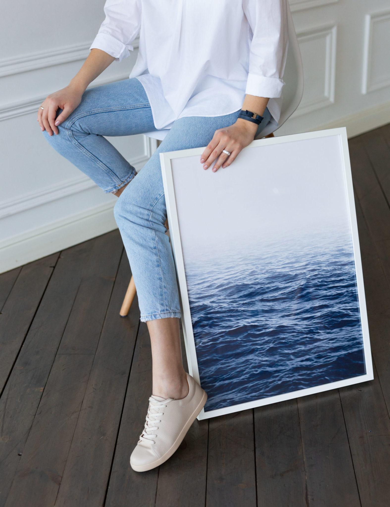 постер рябь на воде