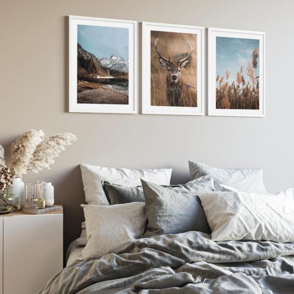 постеры с оленем в спальню
