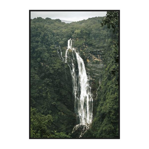 постер с водопадом из природной коллекции