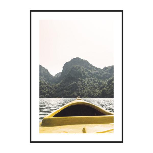 постер вид на озеро