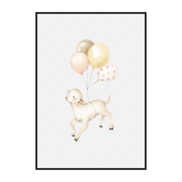 постер барашик шарики