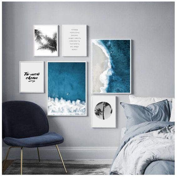 6 постеров на тему океана