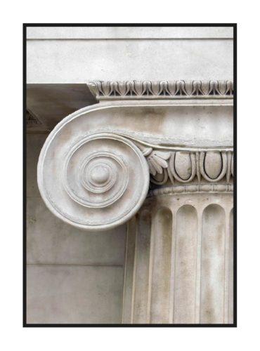 постер с верхом колонны из классического набора