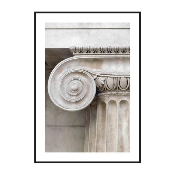 постер ионический колонна