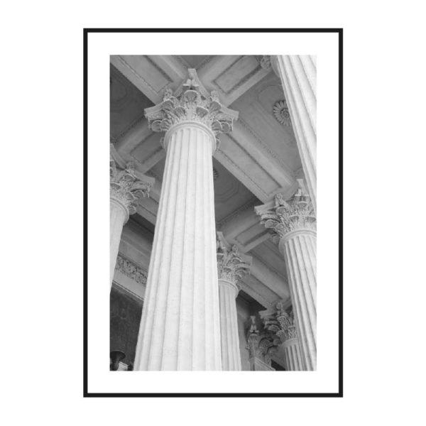 постер колонна музея