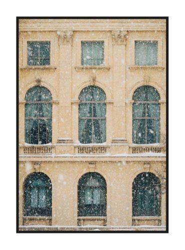 "Постер на стену ""Снегопад"""