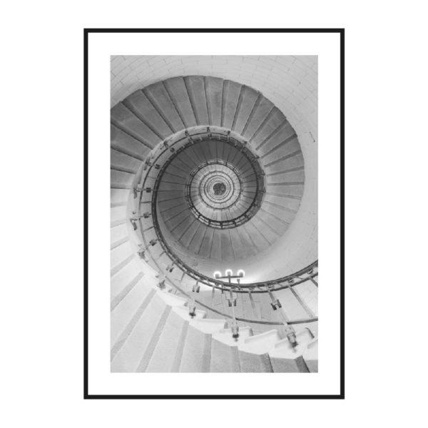 постер спираль архитектура