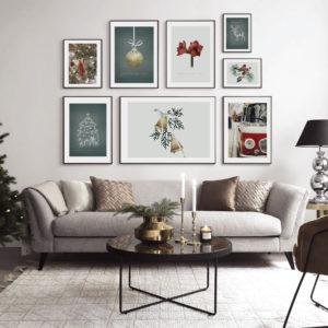 коллекция новый год постеры