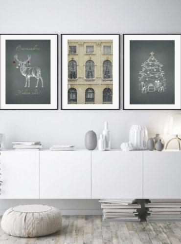 Три новогодних постера