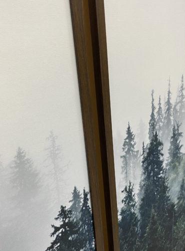 постеры лес интерьерные