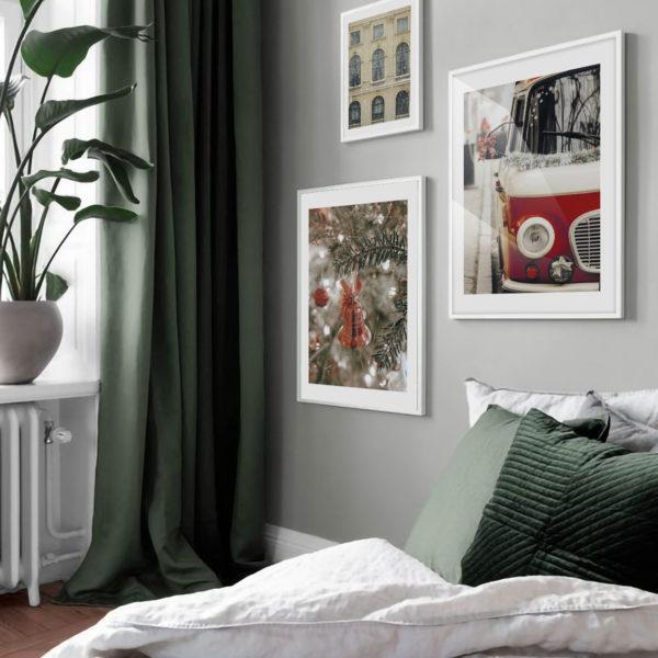 три стильных постера на стену в спальню