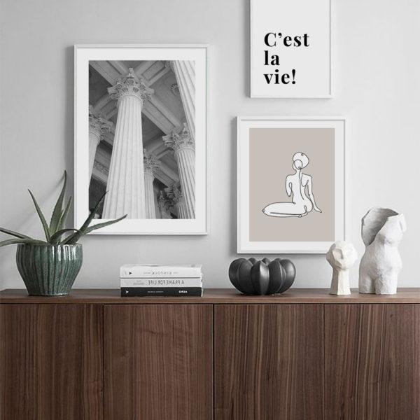 три постера в комнату