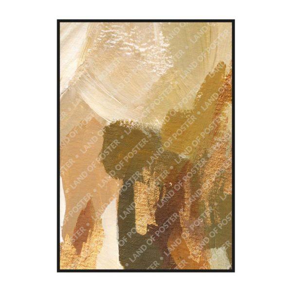 Постер на стену с разноцветными мазками