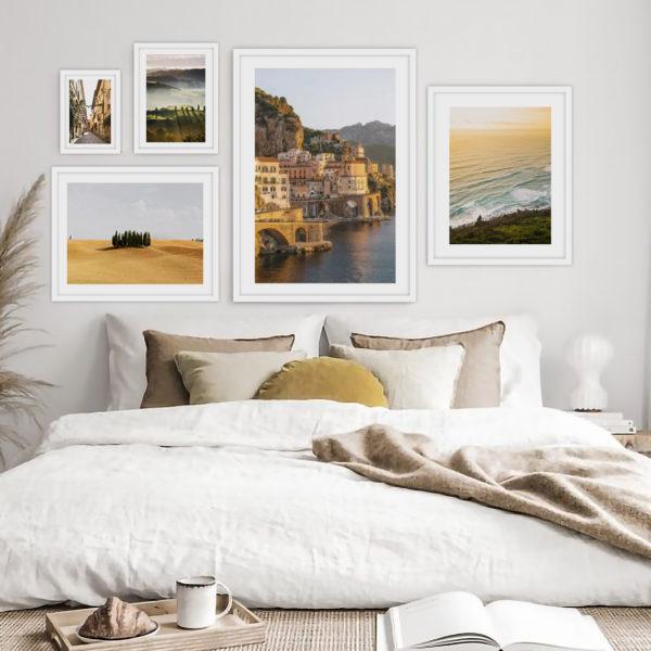Галерея постеров Закат на побережье