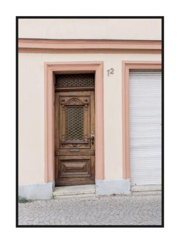 Постер на стену с дверью
