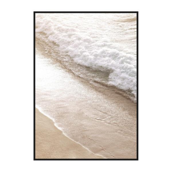 Постер на стену с песочным берегом_1